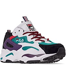 Fila Men's Ray Tracer Casual Athletic Sneakers from Finish Line