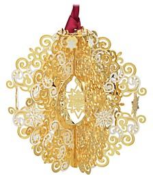 2019 Snowflake 3-D Ornament