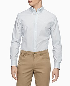 Men's Slim-Fit Stretch Striped Shirt