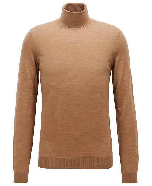 d1951abdae7 BOSS Men's Musso-P Turtleneck Sweater