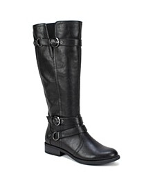 Loyal Wide Calf Tall Boots