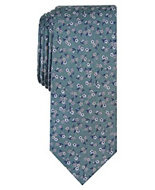 Men's Penrose Skinny Floral Tie, Created for Macy's