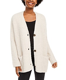 Juniors' V-Neck Cardigan Sweater, Created For Macy's