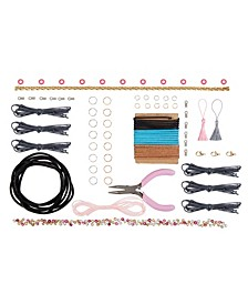 Kids DIY Craft Kits Leather Jewelry