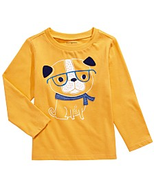 First Impressions Toddler Boys Cotton Smart Dog T-Shirt, Created for Macy's