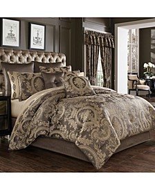 Five Queens Court Neapolitan Queen 4 Piece Comforter Set