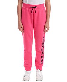 Calvin Klein Big Girls Logo Sweatpants
