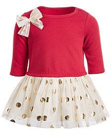 Baby Girls Polka Dot Tutu Dress, Created For Macy's