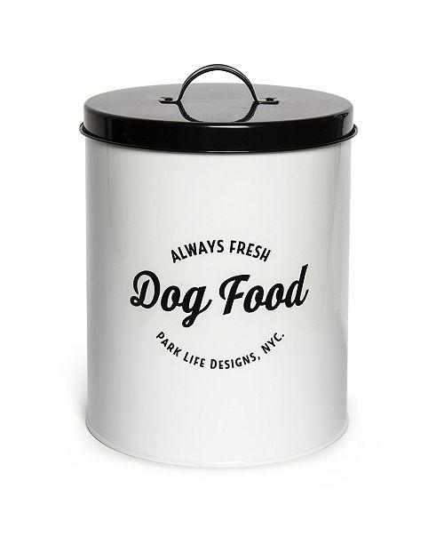 Park Life Designs Wallace Pet Food Tin 140 Oz