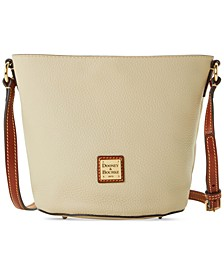 Pebble Leather Thea Mini Crossbody