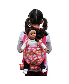 Child's Backpack with Doll Carrier and Doll Sleeping Bag