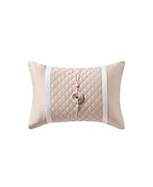 "Belissa 14"" X 20"" Quilted Decorative Pillow"