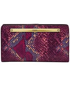 Fossil Liza Slim Leather Bifold Wallet
