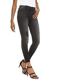 Connie High-Rise Super-Skinny Ankle Jeans