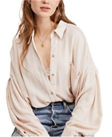 Free People Hidden Valley Button-Up Shirt