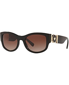 Black Medusa Sunglasses, Created for Macy's,  VE4372