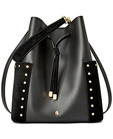 Smooth Leather Debby Drawstring