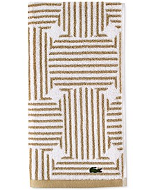 "Geo Compass Cotton 16"" x 30"" Hand Towel"