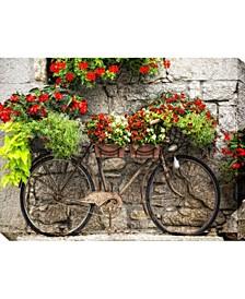 """Rusty Bicyclette Indoor/Outdoor Canvas Art, 40"""" x 30"""""""