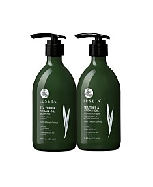 Luseta Beauty Tea Tree & Argan Oil Shampoo & Conditioner Set 33.8 Ounces
