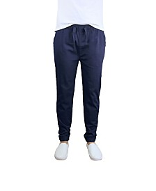 Galaxy By Harvic Men's Basic Stretch Twill Joggers