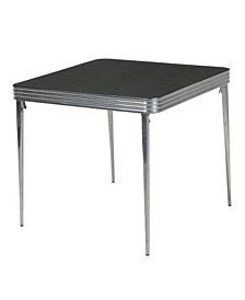 Cosco Stylaire 32-Inch Square Vinyl Top Folding Table