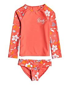 Roxy Big Girl Fruity Shake Long Sleeve Lycra Set