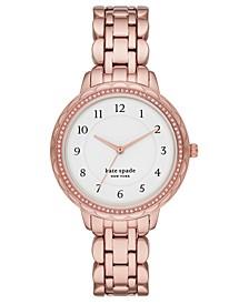 Women's Morningside Rose Gold-Tone Stainless Steel Bracelet Watch 38mm