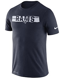 Men's Los Angeles Rams Dri-FIT Mezzo Tear T-Shirt