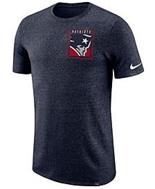 Men's New England Patriots Marled Stadium T-Shirt