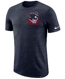Nike Men's New England Patriots Marled Stadium T-Shirt