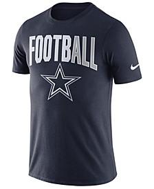 Men's Dallas Cowboys Dri-FIT Cotton Football All T-Shirt