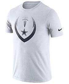 Men's Dallas Cowboys Dri-FIT Cotton Modern Icon T-Shirt
