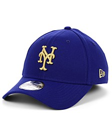 New York Mets Flag Patch 39THIRTY Cap