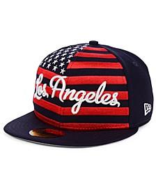 Los Angeles Dodgers Retro Big Flag 59FIFTY Cap