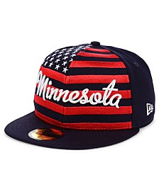 New Era Minnesota Twins Retro Big Flag 59FIFTY Cap