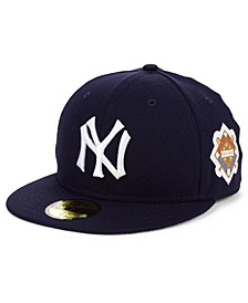 New York Yankees World Series Patch 59FIFTY Fitted Cap