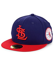 St. Louis Cardinals World Series Patch 59FIFTY Fitted Cap