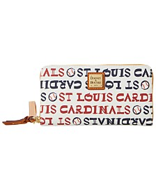 Dooney & Bourke St. Louis Cardinals Large Zip Around Wristlet