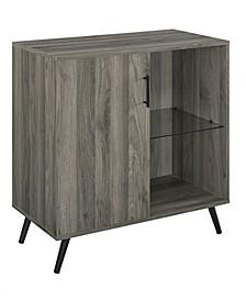 1-Door Wood Accent Cabinet TV Stand