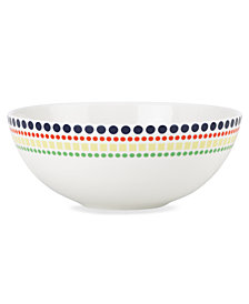kate spade new york Dinnerware, Hopscotch Drive Fruit Bowl