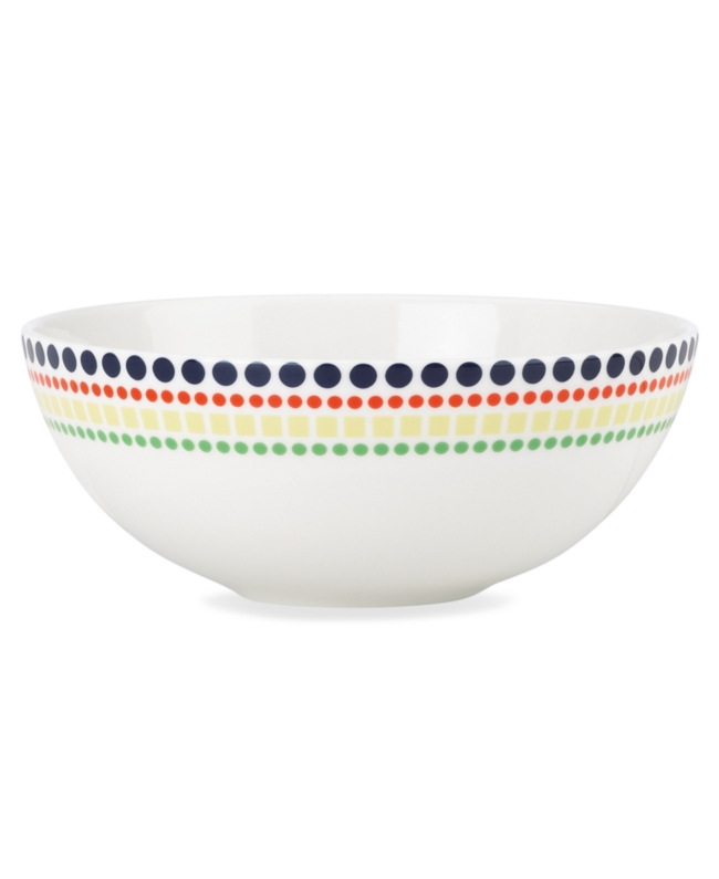 kate spade new york dinnerware hopscotch drive fruit bowl ho