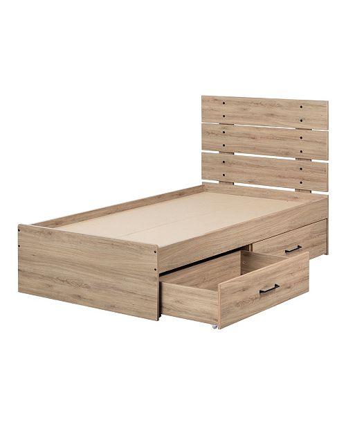 South Shore Fakto Bed, Twin