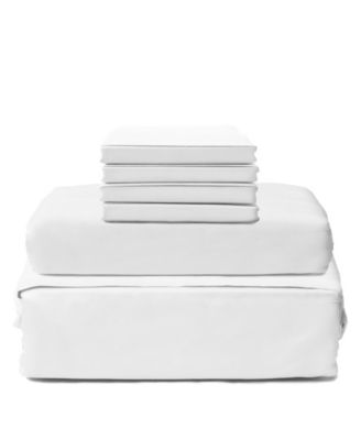 600 Twill 6-Piece Sheet Set, Size- Queen