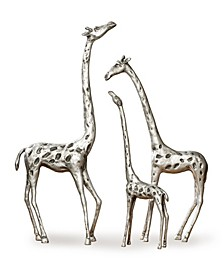 Home Giraffe Family Sculpture