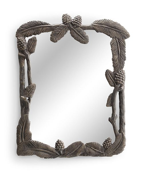 SPI Home Pinecone Mirror