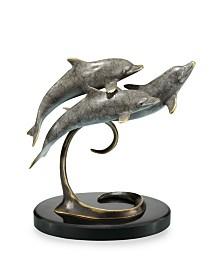 SPI Home Triple Dolphins Sculpture
