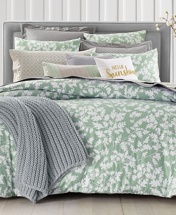 Charter Club Oak Leaf 2-Pc. Twin Comforter Set, Created for Macy's