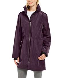 Water-Repellent High-Hem Jacket