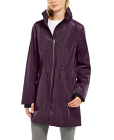 Calvin Klein Performance Water-Repellent High-Hem Jacket